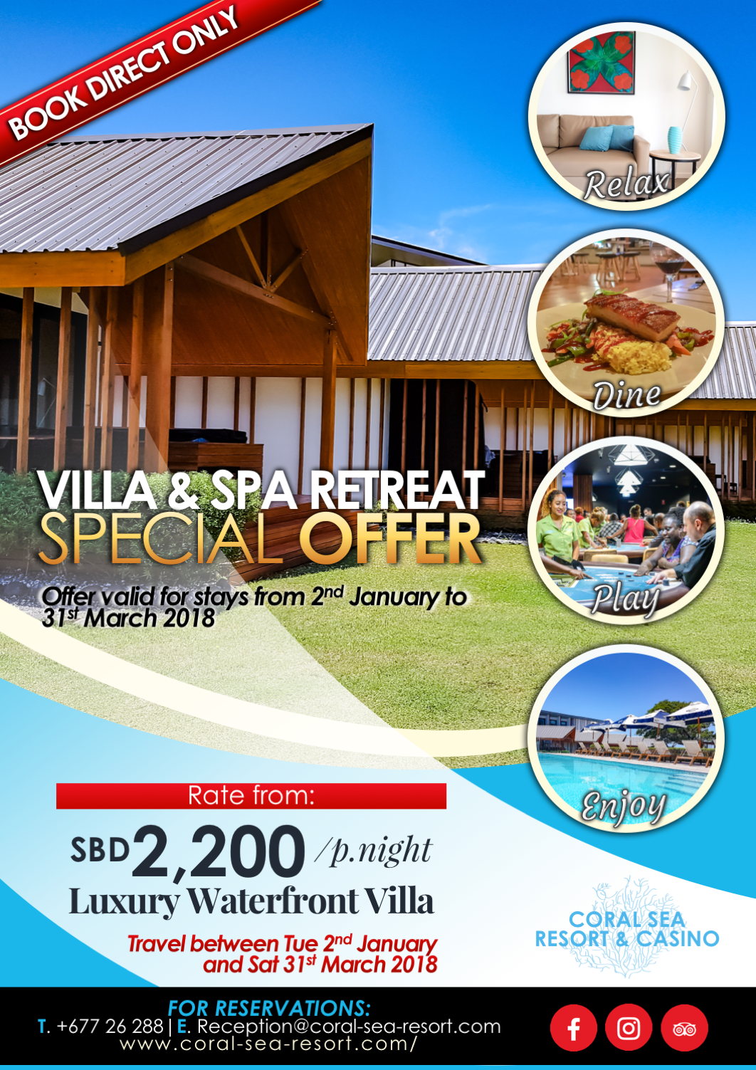 SPECIAL - Villa & Spa Retreat!